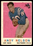 1959 Topps #62  Andy Nelson  Front Thumbnail