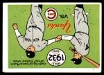 1970 Fleer World Series #29   -  Babe Ruth  / Lou Gehrig 1932 Yankees vs. Cubs   Front Thumbnail