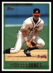 1997 Topps #276  Chipper Jones  Front Thumbnail