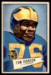 1952 Bowman Large #90  Thomas Johnson  Front Thumbnail