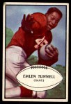 1953 Bowman #53  Emlen Tunnel  Front Thumbnail