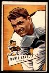 1952 Bowman Large #128  Dante Lavelli  Front Thumbnail