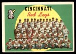 1959 Topps #111   Reds Team Checklist Front Thumbnail