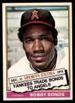1976 Topps Traded #380 T Bobby Bonds  Front Thumbnail