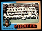 1975 Topps Mini #304   -  Danny Murtaugh Pirates Team Checklist Front Thumbnail