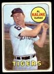 1969 Topps #410  Al Kaline  Front Thumbnail