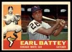 1960 Topps #328  Earl Battey  Front Thumbnail