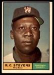 1961 Topps #526  R.C. Stevens  Front Thumbnail