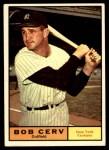 1961 Topps #563  Bob Cerv  Front Thumbnail