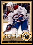 2008 O-Pee-Chee #446  Michael Ryder   Front Thumbnail