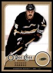 2008 O-Pee-Chee #55  George Parros   Front Thumbnail