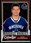 2008 O-Pee-Chee #503  Zach Fitzgerald   Front Thumbnail