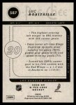 2008 O-Pee-Chee #587  Luc Robitaille  Back Thumbnail