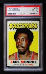 1971 Topps #130  Earl Monroe  Front Thumbnail