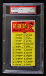1969 Topps #99   Checklist Front Thumbnail
