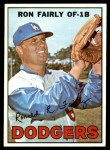 1967 Topps #94 xDOT Ron Fairly  Front Thumbnail