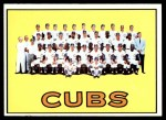 1967 Topps #354   Cubs Team Front Thumbnail