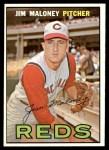 1967 Topps #80  Jim Maloney  Front Thumbnail