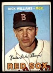 1967 Topps #161  Dick Williams  Front Thumbnail