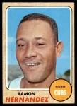 1968 Topps #382  Ramon Hernandez  Front Thumbnail