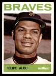 1964 Topps #65  Felipe Alou  Front Thumbnail