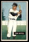 1951 Bowman #130  Tom Saffell  Front Thumbnail