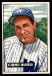 1951 Bowman #206  Connie Marrero  Front Thumbnail