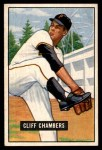 1951 Bowman #131  Cliff Chambers  Front Thumbnail