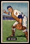 1951 Bowman #79  Jim Hegan  Front Thumbnail