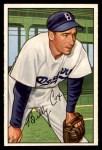 1952 Bowman #152  Billy Cox  Front Thumbnail