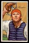 1952 Bowman #112  Smoky Burgess  Front Thumbnail