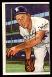 1952 Bowman #135  Mickey Harris  Front Thumbnail