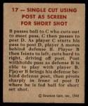 1948 Bowman #17   Post as Screen Play Back Thumbnail