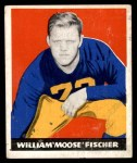 1948 Leaf #7 RED William Fischer  Front Thumbnail