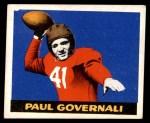 1948 Leaf #30  Paul Governali  Front Thumbnail