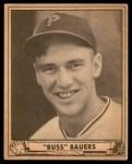 1940 Play Ball #219  Russ Bauers  Front Thumbnail