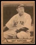 1940 Play Ball #125  Art Fletcher  Front Thumbnail