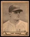 1940 Play Ball #144  Joe Vosmik  Front Thumbnail