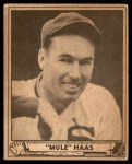 1940 Play Ball #184  Moose Haas  Front Thumbnail