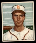 1950 Bowman #252  Billy DeMars  Front Thumbnail