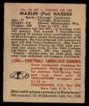 1948 Bowman #29  Pat Harder  Back Thumbnail