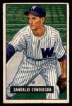 1951 Bowman #96  Sandy Consuegra  Front Thumbnail