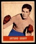 1948 Leaf #8  Arturo Godoy  Front Thumbnail