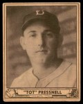 1940 Play Ball #146  Tot Pressnell  Front Thumbnail