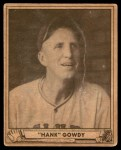 1940 Play Ball #82  Hank Gowdy  Front Thumbnail