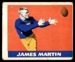 1948 Leaf #24 RED Jim Martin  Front Thumbnail
