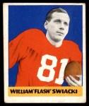 1948 Leaf #12 BN Bill Swiacki  Front Thumbnail