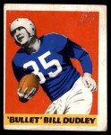 1948 Leaf #36  Bill Dudley  Front Thumbnail