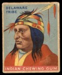 1933 Goudey Indian Gum #5   Delaware Tribe  Front Thumbnail
