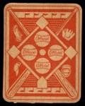 1951 Topps Red Back #12  Jim Hegan  Back Thumbnail